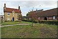 TL5338 : Saffron Walden: Primes Close Almshouses by John Sutton