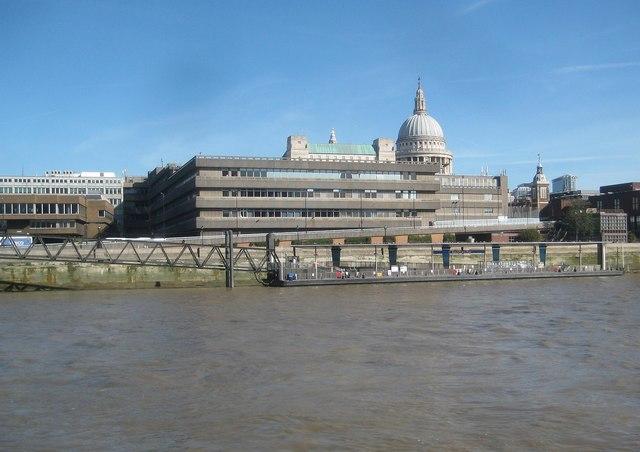 River Thames: Blackfriars Pier