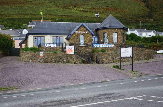 Rosspoint Bar and Restaurant, Rossbeigh Beach, Glenbeigh. Co. Kerry