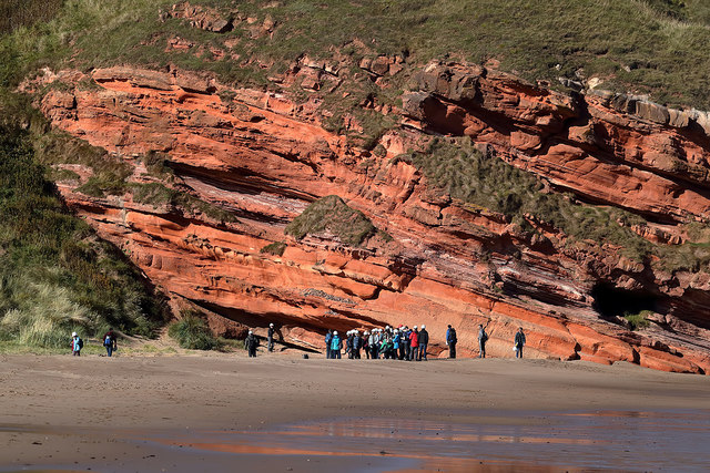 Red Rock, Pease Sands