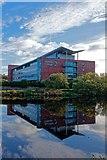 NS3421 : Riverside Building Ayr College by Ian Rainey
