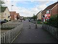 TL8094 : Recent infill housing, Mundford by Hugh Venables