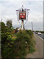 TL8723 : Kings Arms Public House sign by Adrian Cable