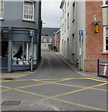 SO2914 : Lower Castle Street, Abergavenny by Jaggery