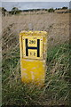 TF0416 : Hydrant sign by Bob Harvey
