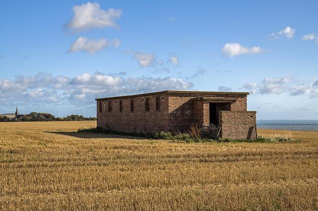 RAF St Cyrus WWII Chain Home Low radar station (3)