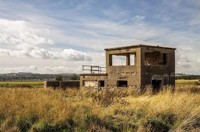 RAF Kinnel WW2 Airfield - Watch Office (1)