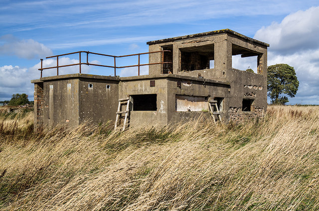 RAF Kinnell WW2 Airfield - Watch Office (2)