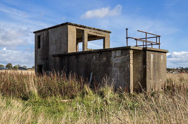 RAF Kinnell WW2 Airfield - Watch Office (4)