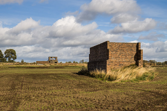 RAF Kinnell WW2 Airfield - Shooting-in Butts (6)