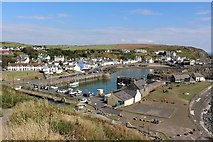 NW9954 : Portpatrick Harbour by Graeme Yuill