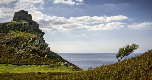 The Valley of Rocks