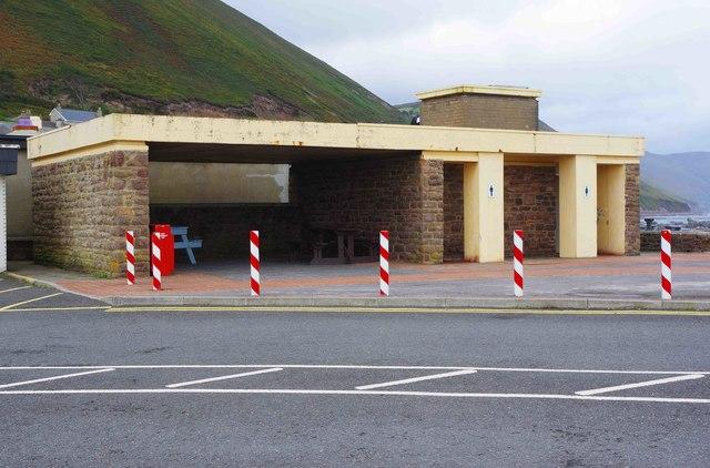 Shelter & public toilets, Rossbeigh Beach, Glenbeigh, Co. Kerry