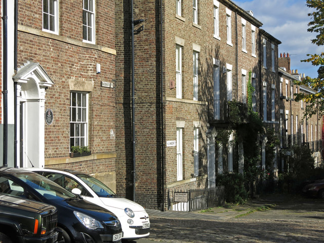 Ravensworth Terrace and High Swinburne Place