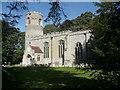 TL7963 : Church of St Nicholas, Little Saxham by Humphrey Bolton