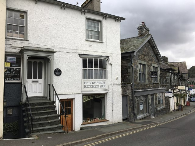The Office of William Wordsworth in Ambleside