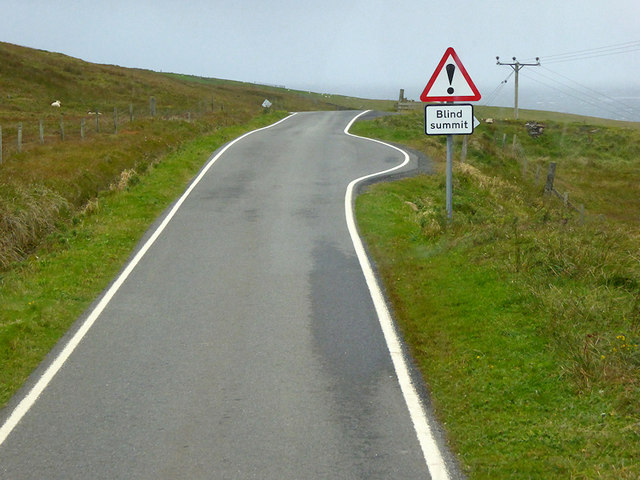 Passing Place on the B9122