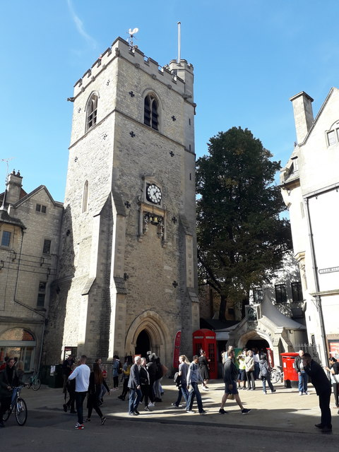 Oxford: Carfax Tower