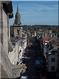 SP5106 : Oxford: along the High Street from Carfax Tower by Chris Downer