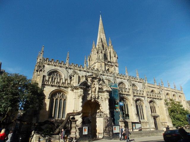 Oxford: St Mary's church