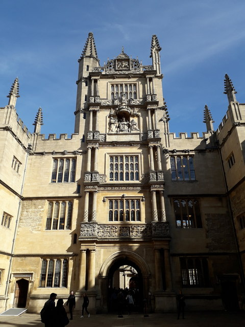 Oxford: the Tower of the Five Orders