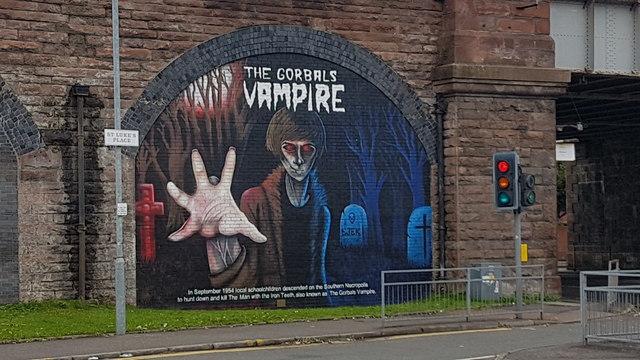 The Gorbals Vampire Artwork