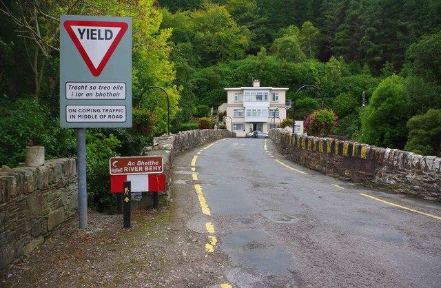 Behy Bridge (2), near Glenbeigh, Co. Kerry
