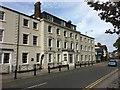 SH5771 : British Hotel, Bangor by Richard Hoare