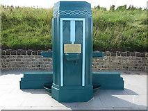 NZ3573 : Coronation Fountain Northern Promenade Whitley Bay by Geoff Holland