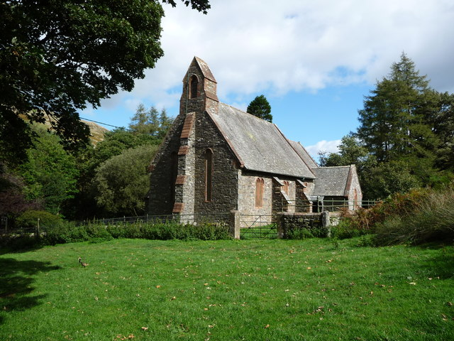 St Peter's Church, Martindale, from the south-west