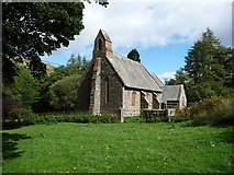 NY4319 : St Peter's Church, Martindale, from the south-west by Christine Johnstone