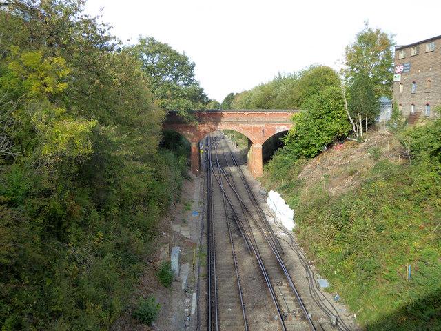 London Road railway bridge, East Grinstead