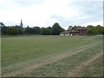 SX9192 : Sports field and facilities, Exeter by David Smith