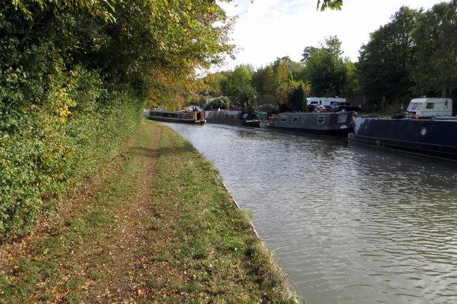 Grand Union Canal near Nether Heyford