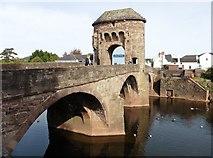 SO5012 : Monnow Bridge by Roger Cornfoot