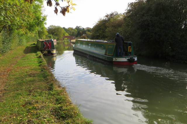 Grand Union Canal near Nether Heyford
