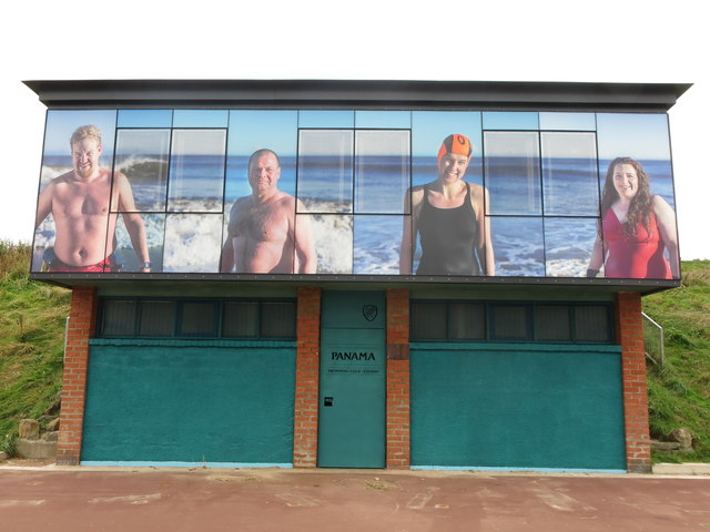 Panama Swimming Club Clubhouse Northern Promenade Whitley Bay