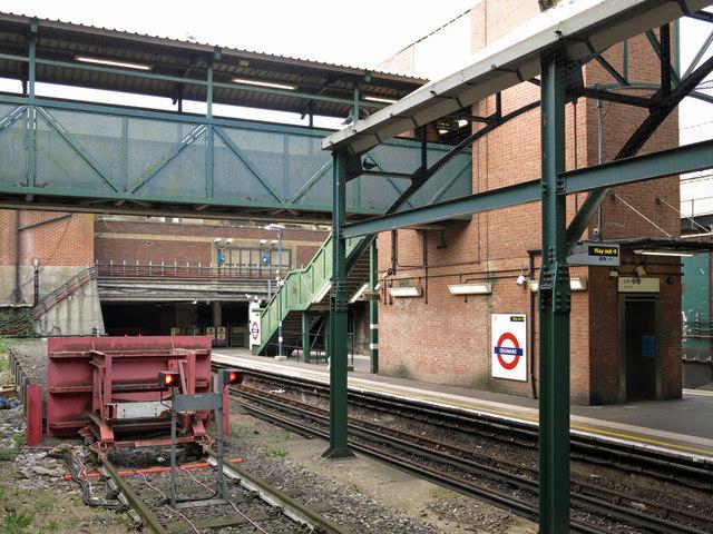 Edgware tube station - north end