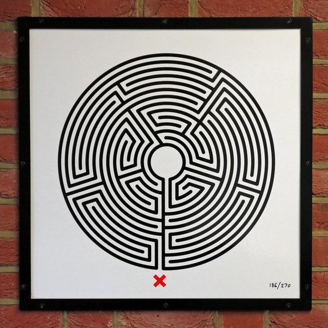 Edgware tube station - Labyrinth 186