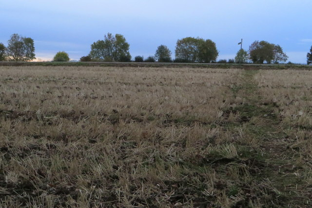 Footpath to MacMillan Way