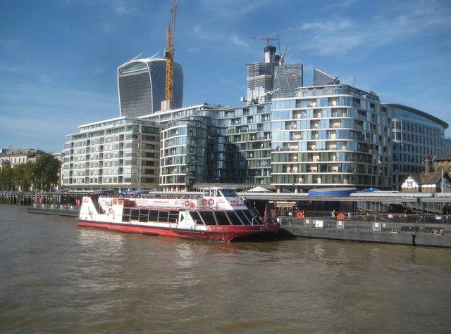 River Thames: Tower Millennium Pier