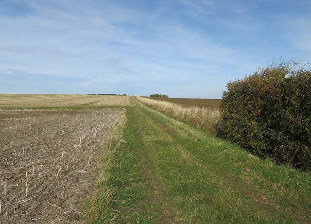 Public footpath near Elsworth