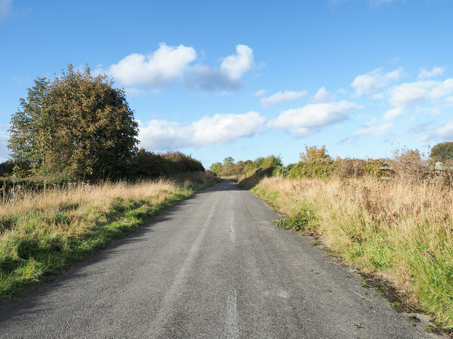 Abandoned stretch of road
