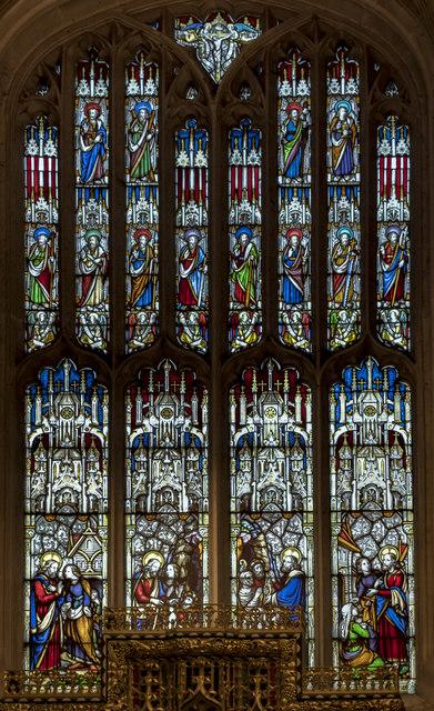 East window, St John the Baptist church, Cirencester