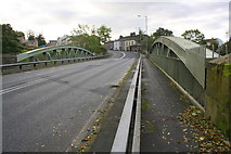 SD6872 : New Bridge taking New Road (A65) over River Greta by Roger Templeman
