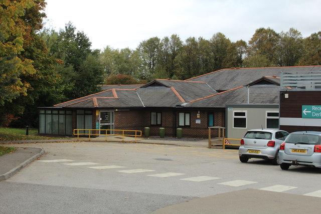 Spire Yale Hospital entrance