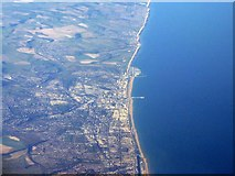 TQ3103 : The south coast from above Worthing by M J Richardson