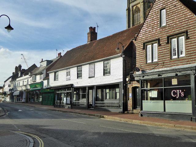 Premises on High Street, East Grinstead