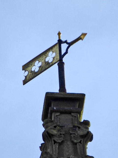 Weather vane, St. Swithun's, East Grinstead
