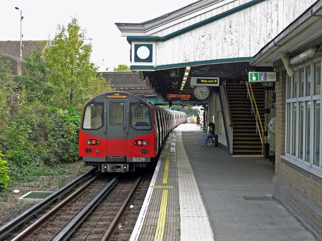Colindale tube station